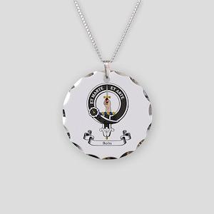 Badge-Bain [Aberdeen] Necklace Circle Charm